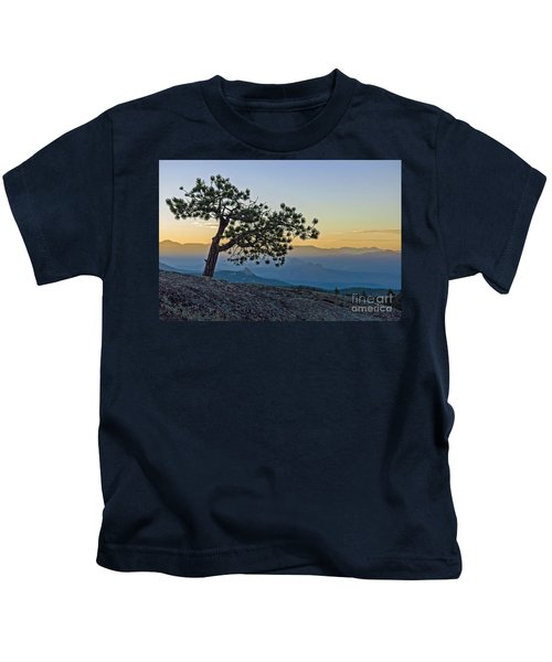 Colorado Sunset Kids T-Shirt