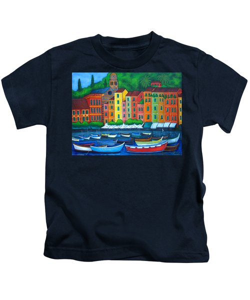 Colours Of Portofino Kids T-Shirt