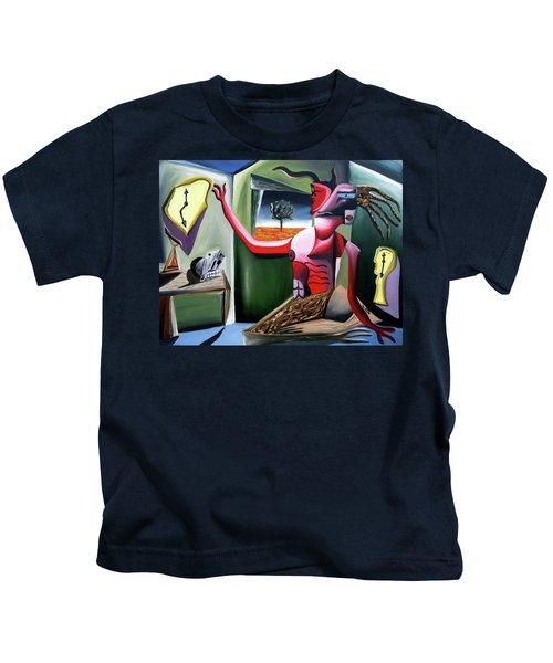 Contemplifluxuation Kids T-Shirt