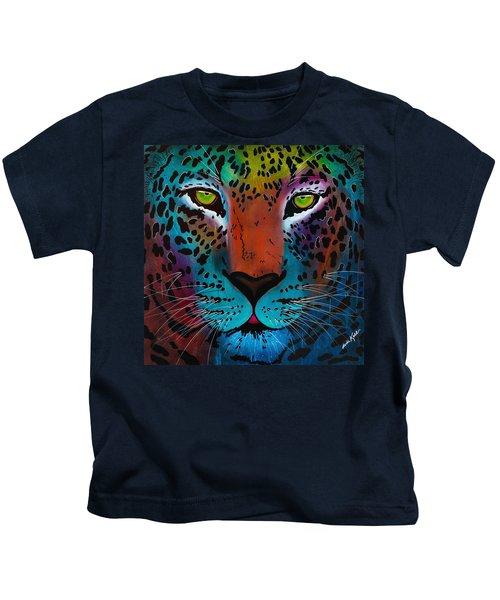 Content Leopard Kids T-Shirt