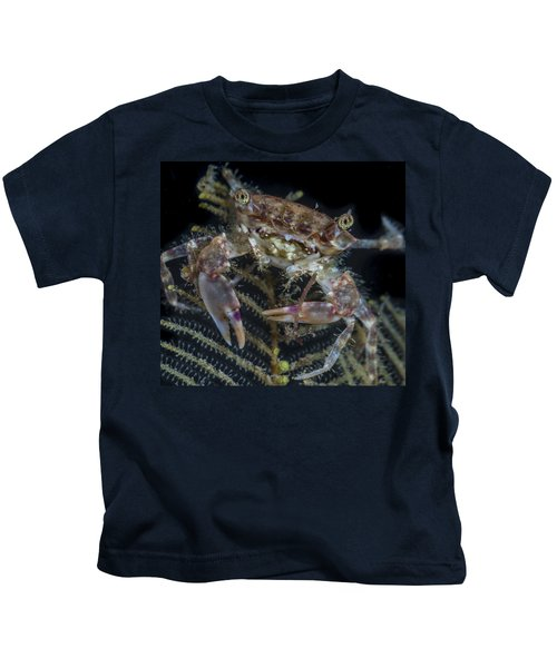 Crab Staring At You Kids T-Shirt