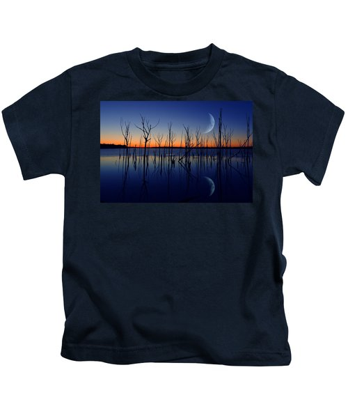 The Crescent Moon Kids T-Shirt