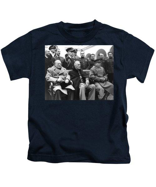 Crimean Conference In Yalta Kids T-Shirt