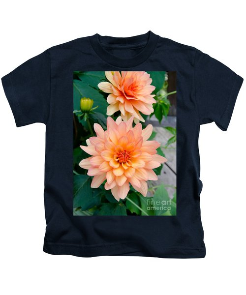 Dahlias Kids T-Shirt