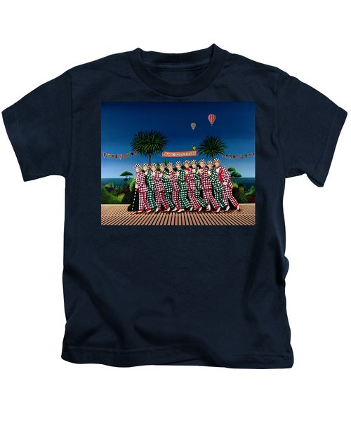 Dance Competition Kids T-Shirt