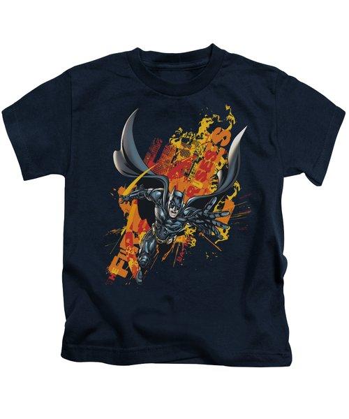 Dark Knight Rises - Fire Rises Kids T-Shirt