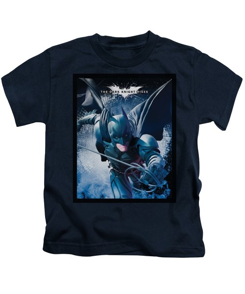 Dark Knight Rises - Swing Into Action Kids T-Shirt