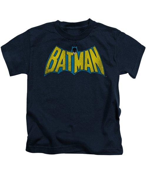 Dc - Classic Batman Logo Kids T-Shirt