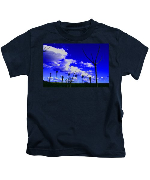 Delta Clouds Kids T-Shirt