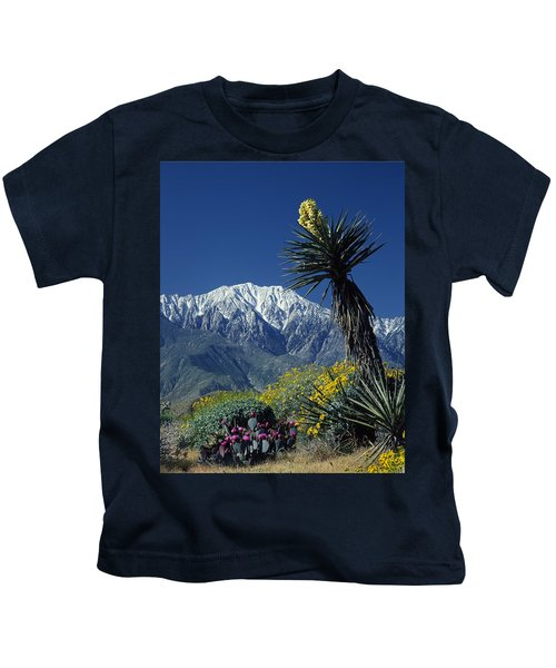 Desert Blooms Kids T-Shirt