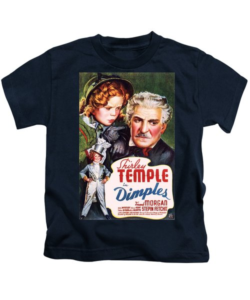 Dimples Kids T-Shirt by Movie Poster Prints