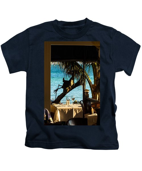 Dining For Two At Louie's Backyard Kids T-Shirt
