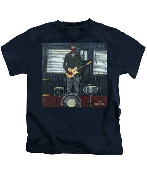 Drums And Wires Kids T-Shirt