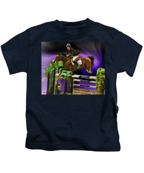Duncan Mcfarlane On Horse Mr Whoopy Kids T-Shirt