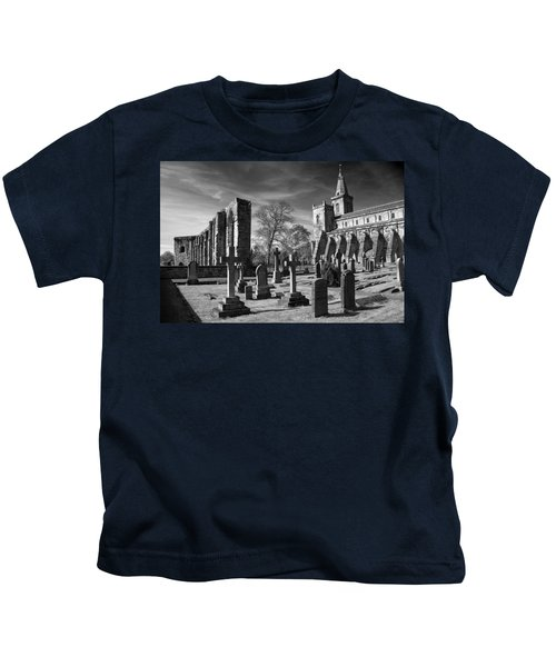 Dunfermline Palace And Abbey Kids T-Shirt