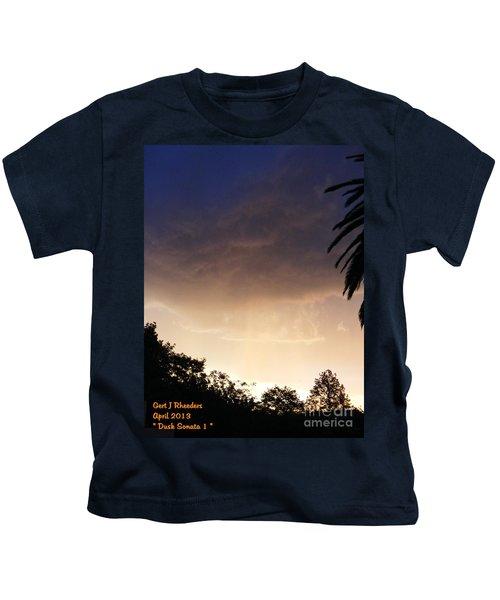 Dusk Sonata 1 H A Kids T-Shirt