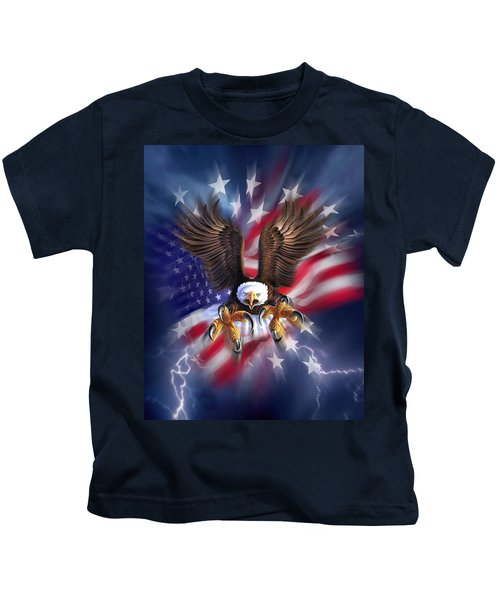 Eagle Burst Kids T-Shirt