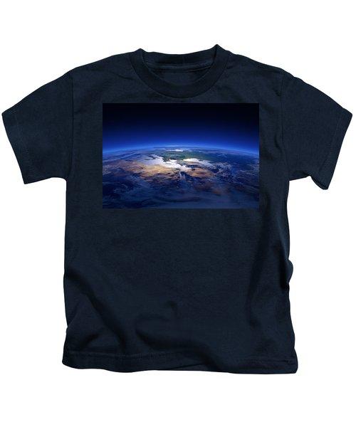 Earth - Mediterranean Countries Kids T-Shirt