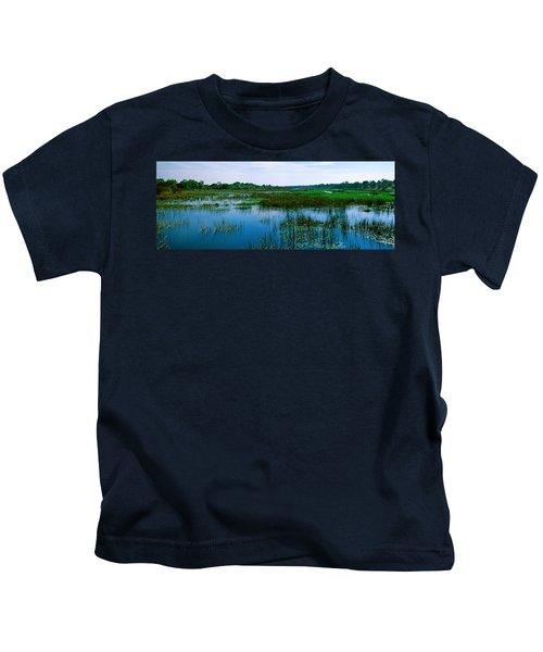 Edge Of The Okavango Delta, Moremi Kids T-Shirt
