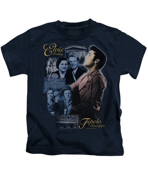 Elvis - Tupelo Kids T-Shirt