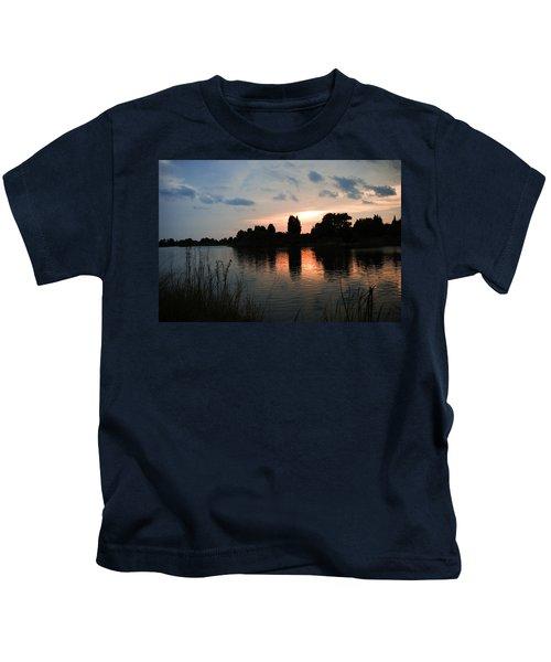 Evening Reflection Kids T-Shirt