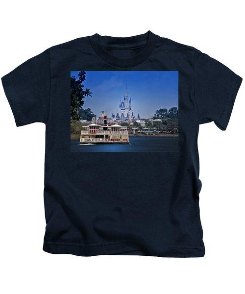 Ferry Boat Magic Kingdom Walt Disney World  Kids T-Shirt