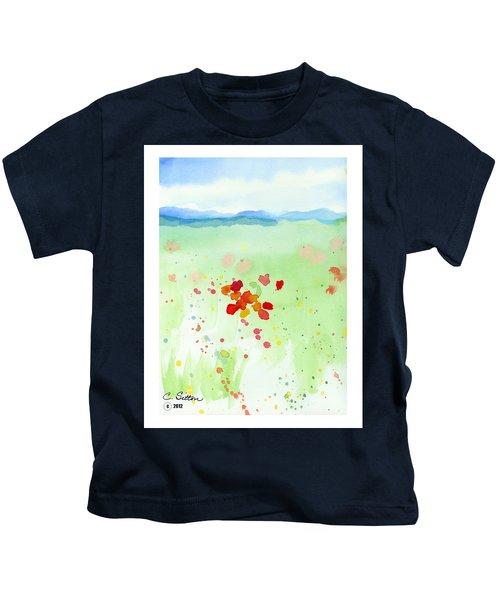 Field Of Flowers 2 Kids T-Shirt