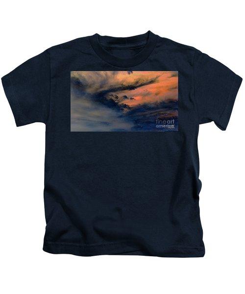 Fire In The Hills Kids T-Shirt