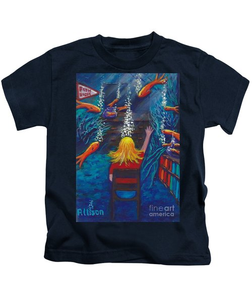 Fish Dreams Kids T-Shirt