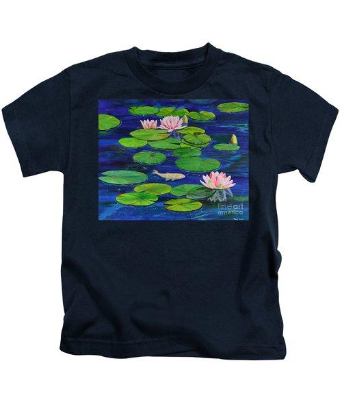 Tranquil Pond Kids T-Shirt