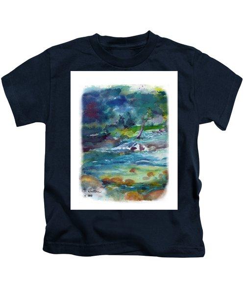 Fishin' Hole 2 Kids T-Shirt