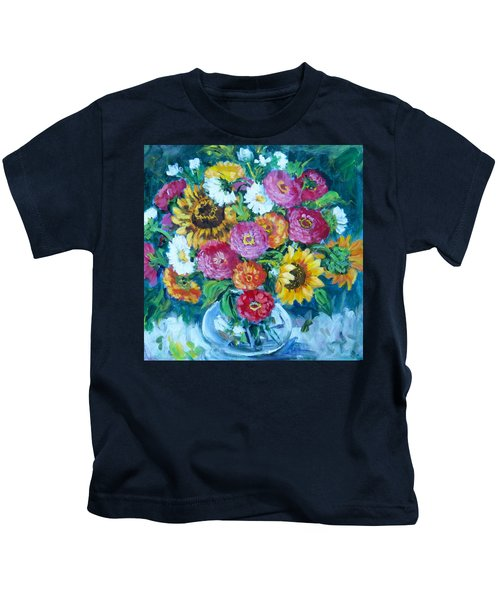 Floral Explosion No.1 Kids T-Shirt