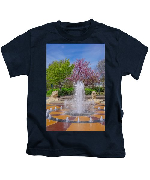Fountain In Coolidge Park Kids T-Shirt