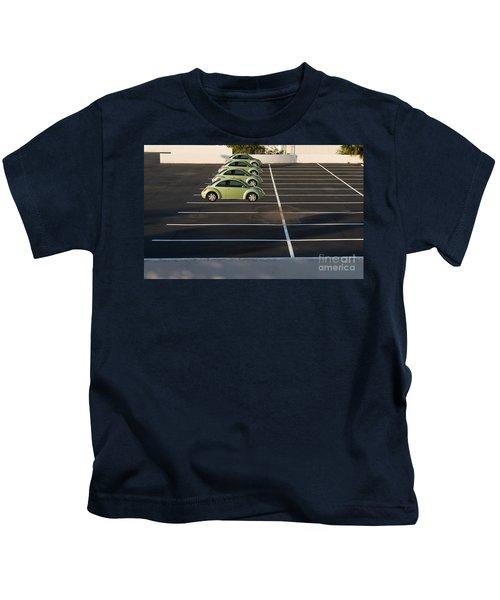 Four Green Beetles Kids T-Shirt