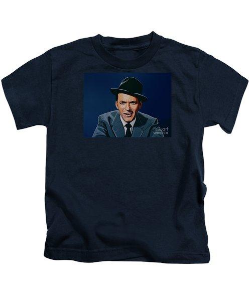 Frank Sinatra Kids T-Shirt by Paul Meijering