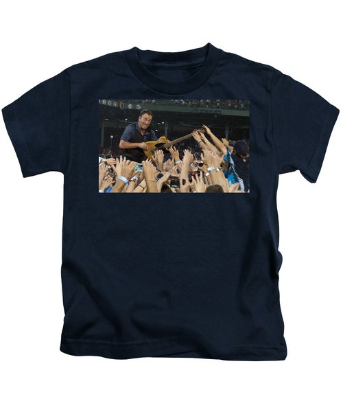 Frenzy At Fenway Kids T-Shirt