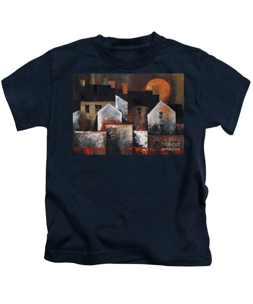 Gables Sunset Kids T-Shirt