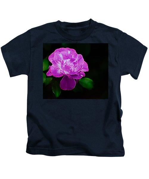 Glowing Rose II Kids T-Shirt