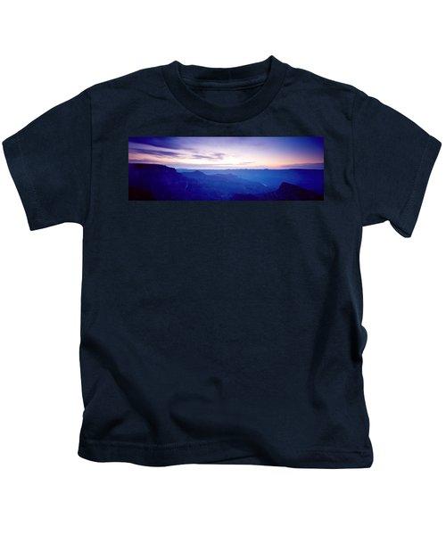 Grand Canyon North Rim At Sunrise Kids T-Shirt