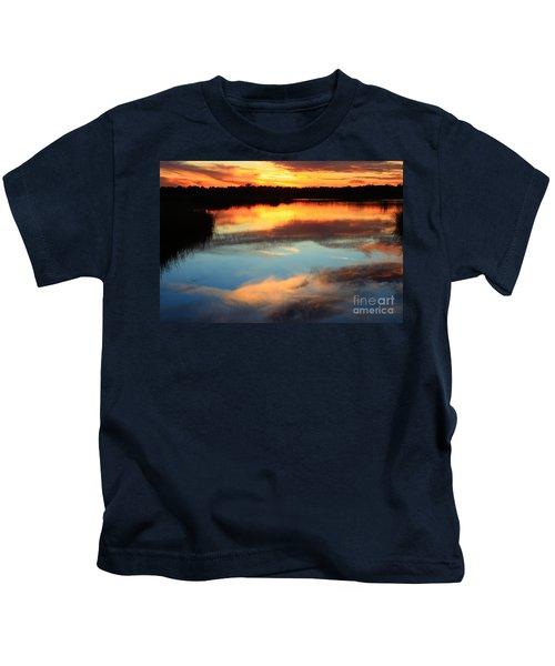 Guana River Sunset Kids T-Shirt