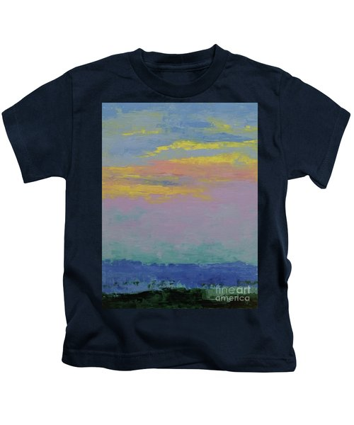 Harbor Sunset Kids T-Shirt