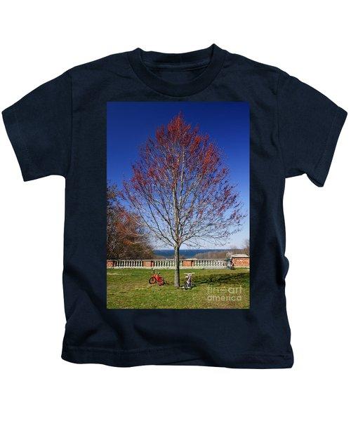 Harmonic Tremors Kids T-Shirt