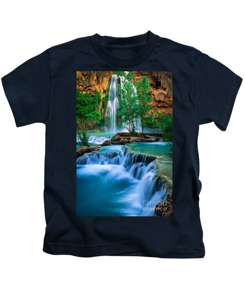 Havasu Paradise Kids T-Shirt by Inge Johnsson