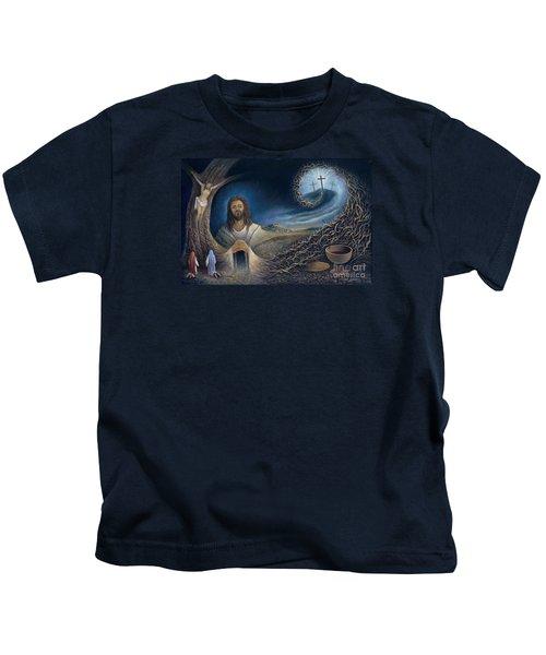 He Knew Yet He Went Through Kids T-Shirt