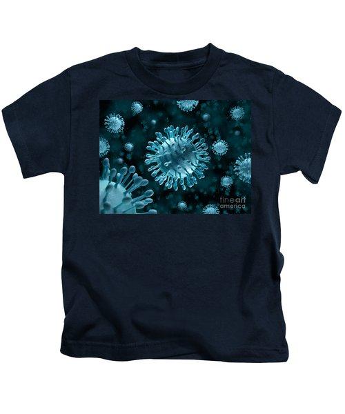 Hepatitis C Virus Attack Kids T-Shirt
