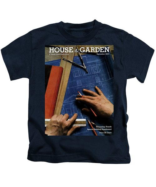 House And Garden Cover Of A Person Kids T-Shirt