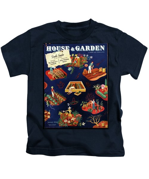 House And Garden The Gardener's Yearbook Cover Kids T-Shirt