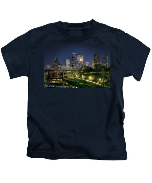 Houston On The Bayou Kids T-Shirt
