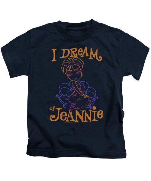 I Dream Of Jeannie - Paint Kids T-Shirt