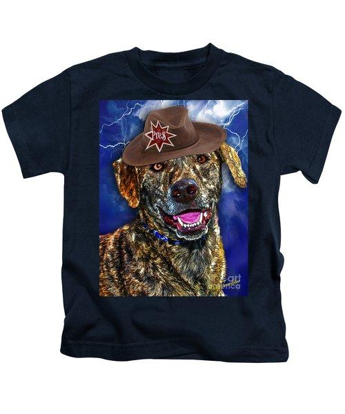 I'm A Canine Community Reporter Kids T-Shirt